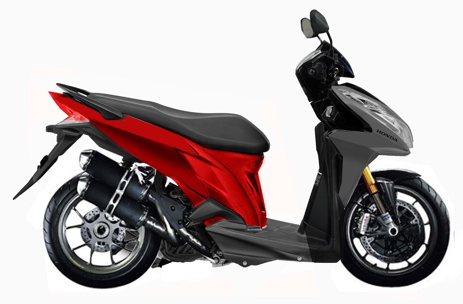 Honda Vario CW 110 FI - Dealer Sepeda Motor Honda