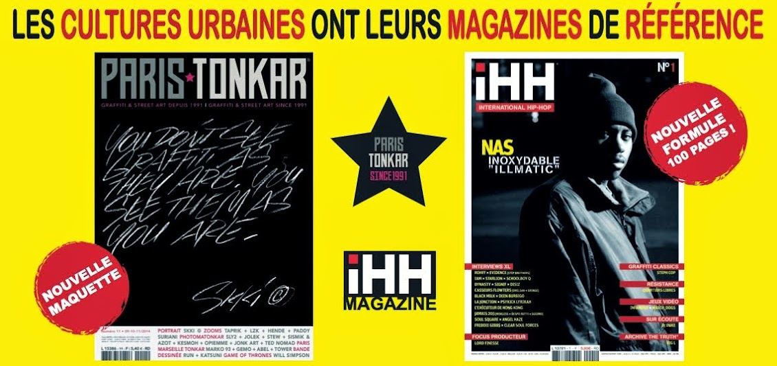 [Paris Tonkar magazine] #graffiti #streetart #urban #lifestyle
