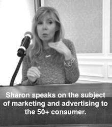 SHARON SPEAKS TO GROUPS