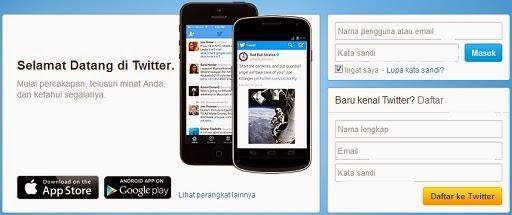 Cara Daftar Twitter Terbaru