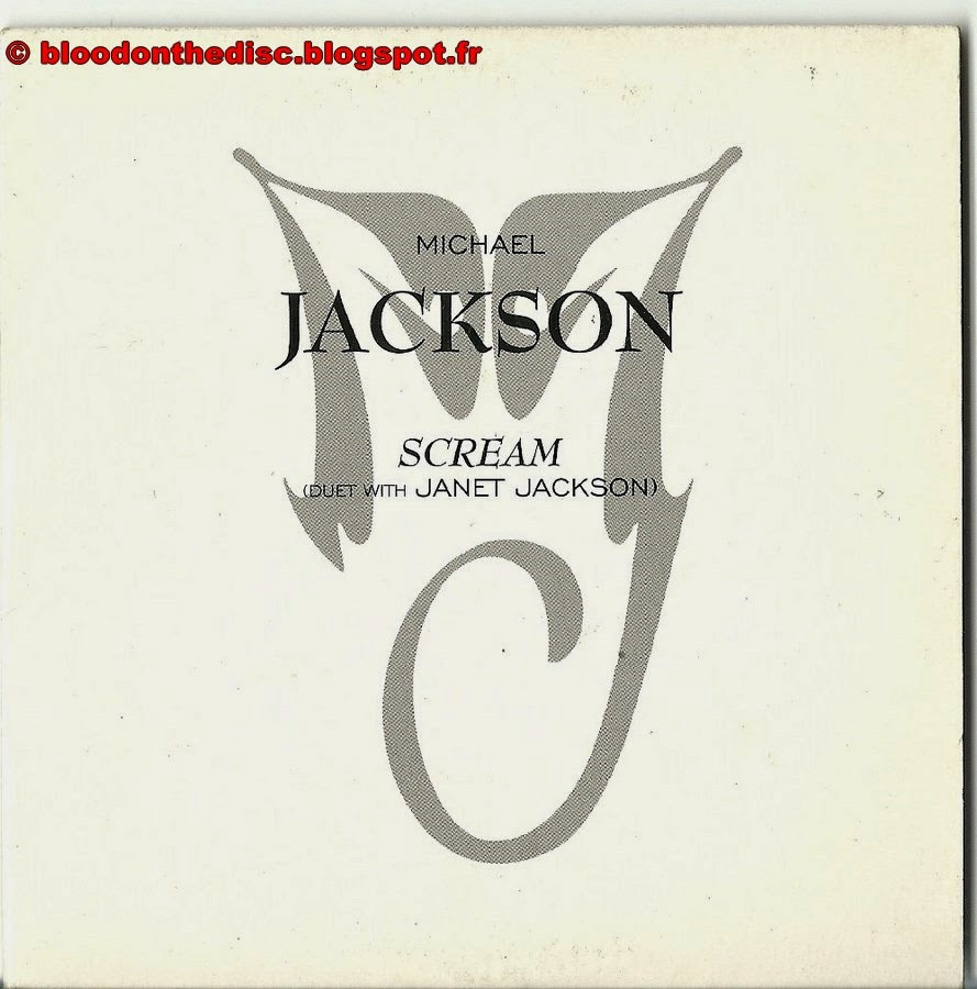 CD Promo Français Scream pochette avant