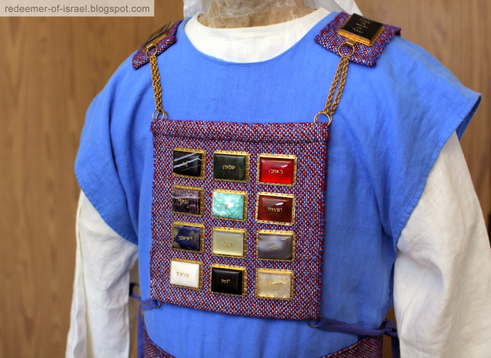 Redeemer of israel clothing of the high priest clothing of the high priest publicscrutiny Images