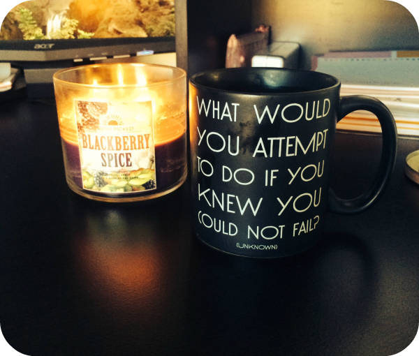 motivational coffee mug