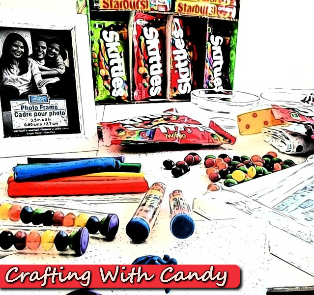 Crafting With Candy, Skittles and Starburst #VIPFruitFlavors #Shop