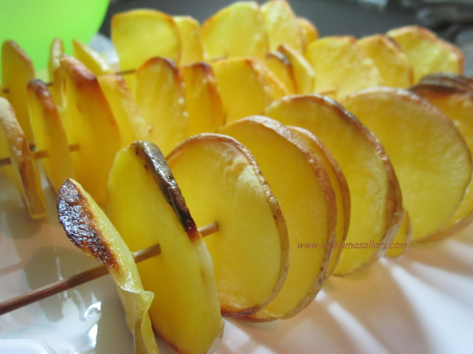 Fırında Patates Cipsi Nasıl Yapılır