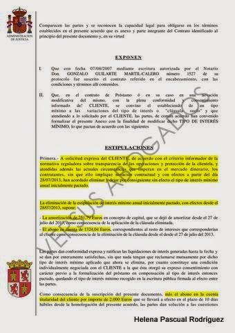 Entre c digos y leyes acuerdo conseguido por este for Clausula suelo ilegal