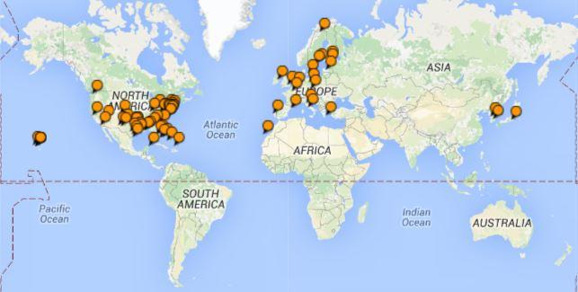 TripAdvisor Travel Map