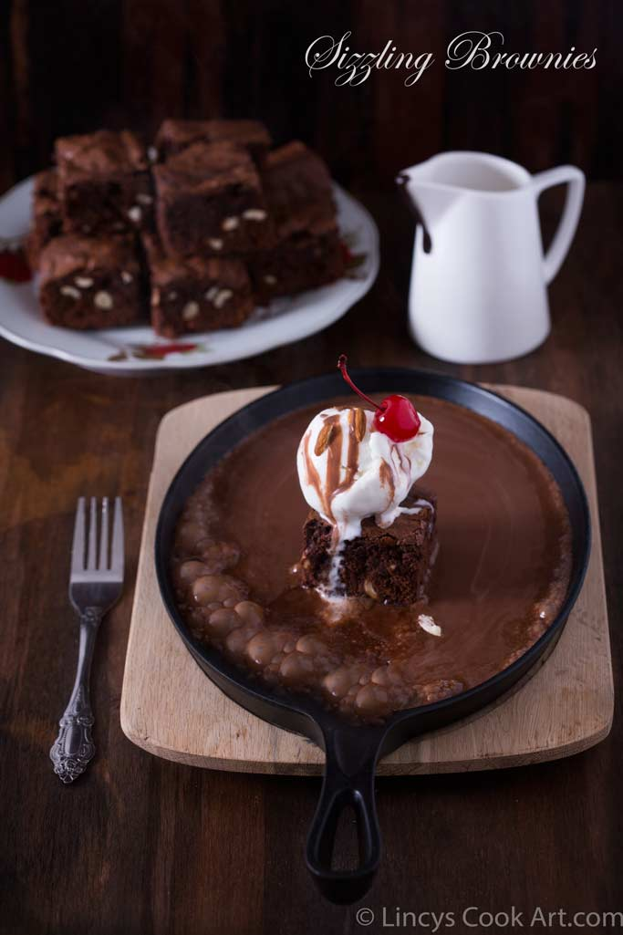 Sizzling Brownies recipe