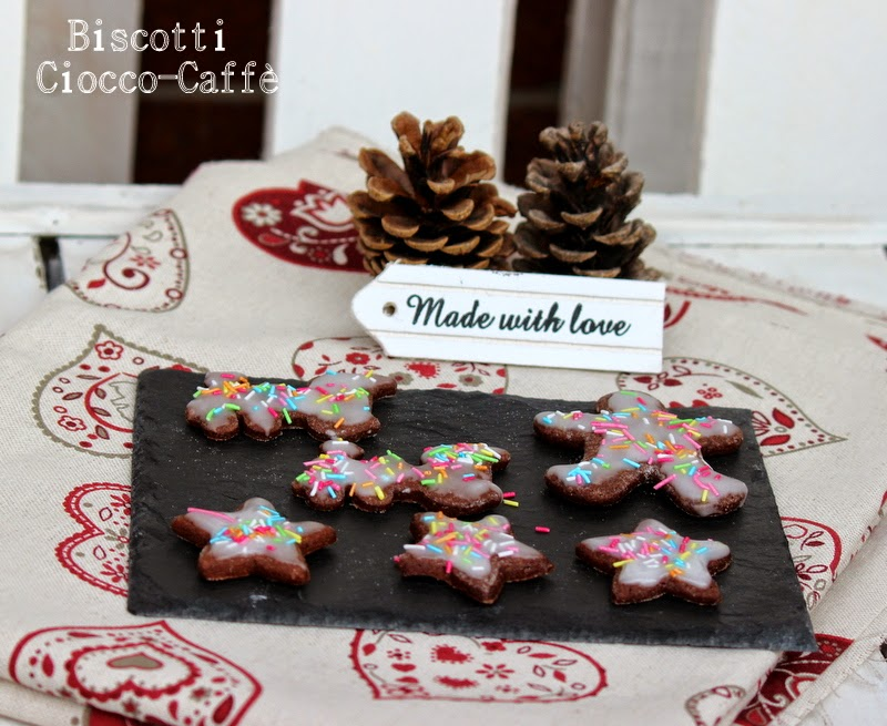 regali di natale home made#7 : biscotti ciocco-caffè