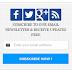 Blue Color Social Subscription Widget for Blogger