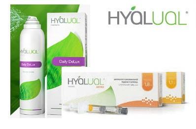 HYALUAL Product Range