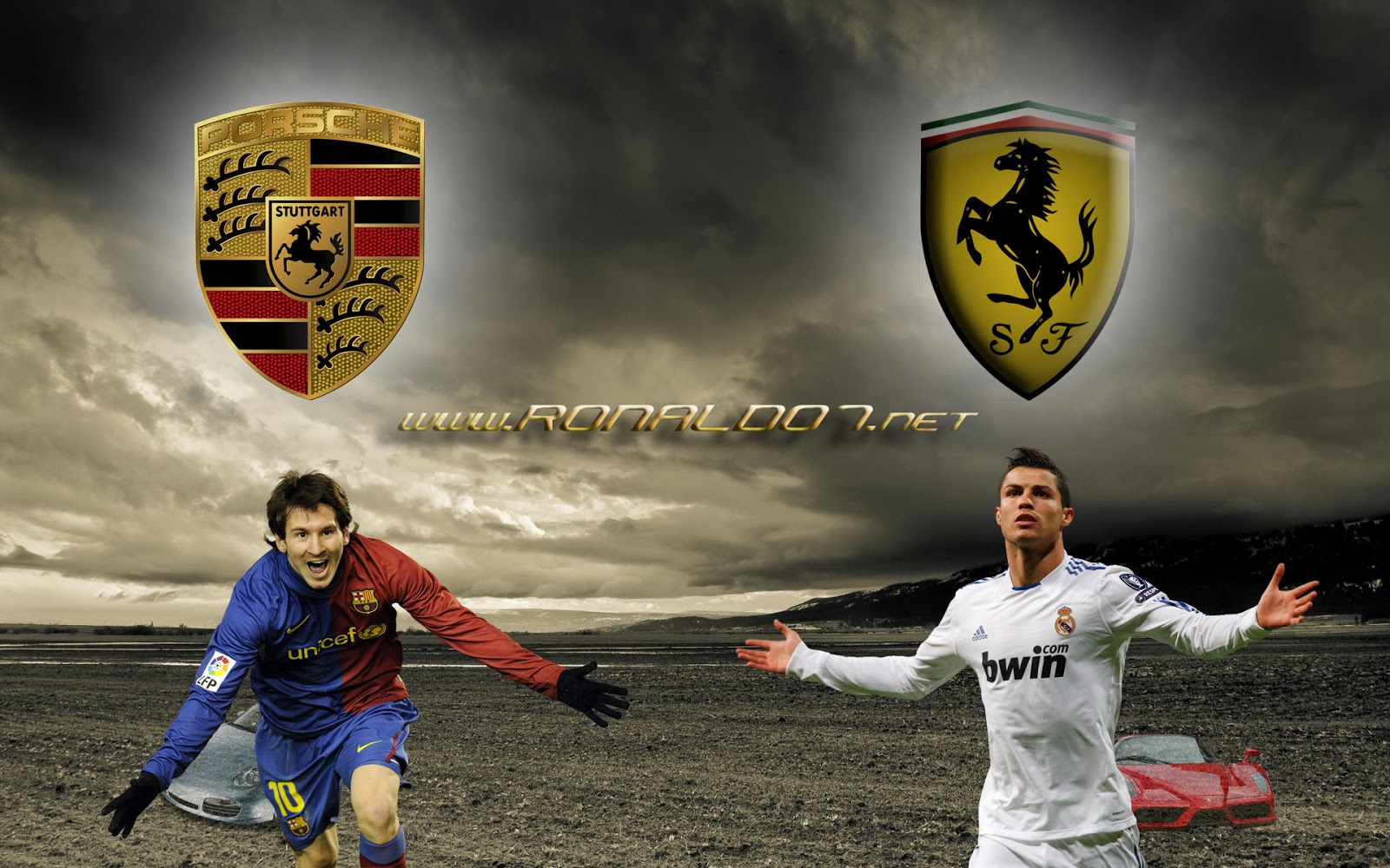 Galerry Wallpaper   Messi VS Ronaldo Wallpapers