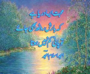 beautiful love quote in urdu wallpaper hd