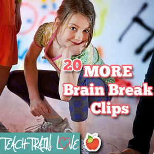 http://teachtrainlove.com/20-more-brain-break-clips-fight-the-fidgeting/