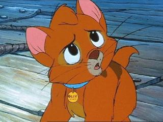 Oliver in Oliver & Company 1988 animatedfilmreviews.blogspot.com