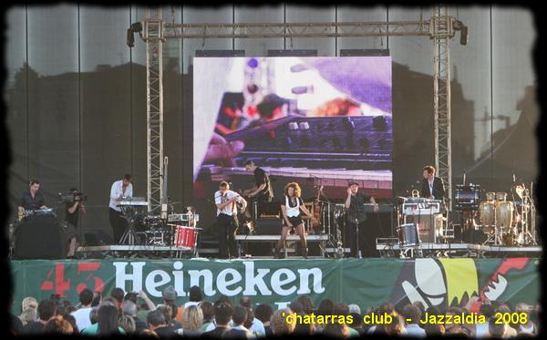 chatarras club ... Jazzaldia 2008