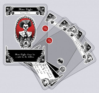 Gloom Sample Cards