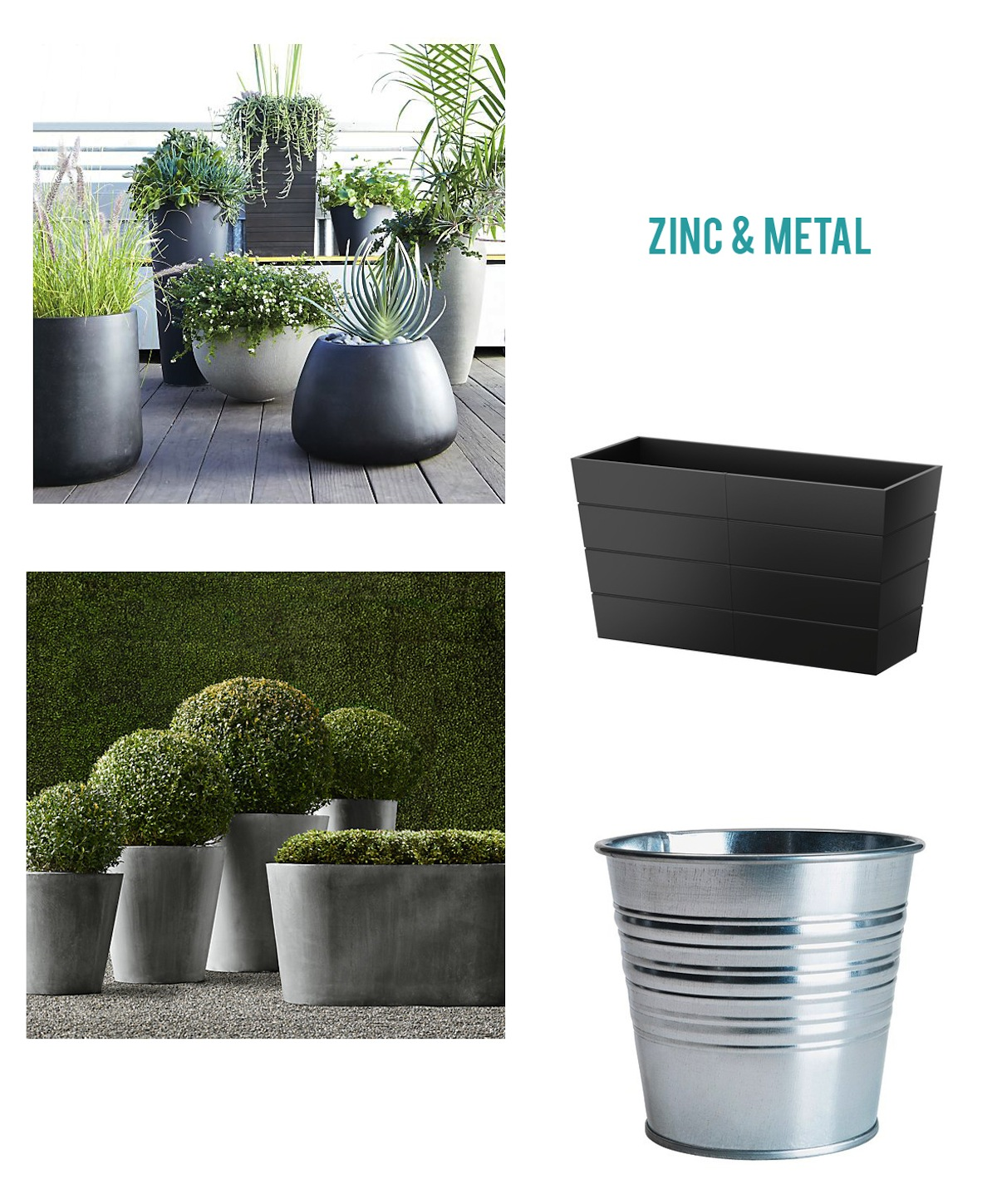Paper Parade Co.: Garden Pots & Planters Round-Up on
