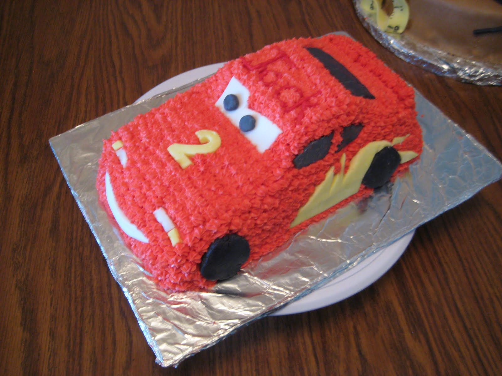 ABCD Cakes the good the bad and the ugly Lightning McQueen