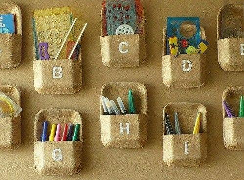C mo organizar tu habitaci n con charolas de unicel - Manualidades con cosas de casa ...