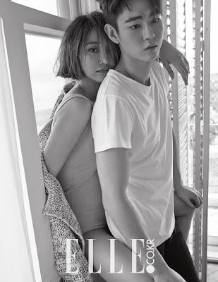 Go Joon Hee and Han Ye Jun - Elle Magazine May Issue 2015