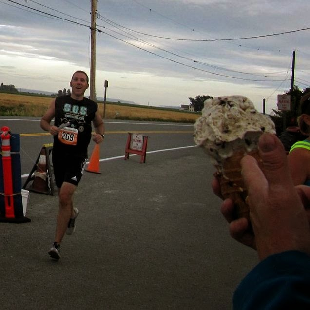 Ragnar Northwest Passage - Ice Cream Cheer