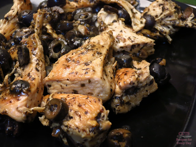 braised chicken fricassee