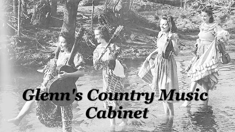 Glenn's Country Music Cabinet