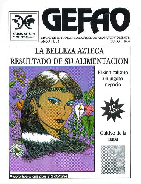 LA BELLEZA AZTECA RESULTADO DE SU ALIMENTACION REVISTA GEFAO