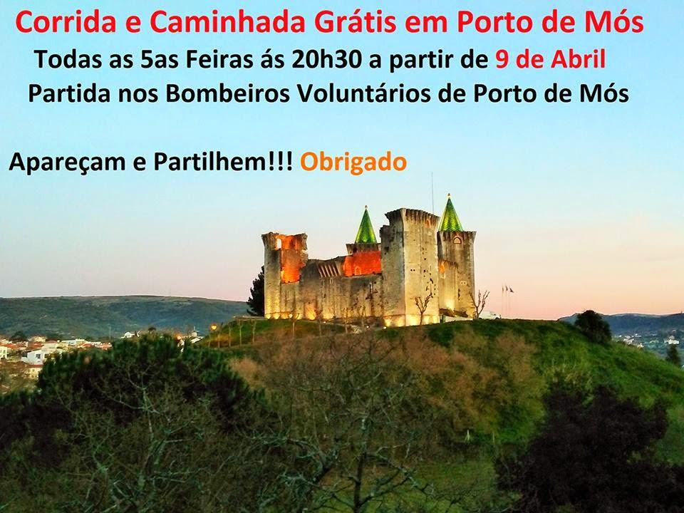 Corrida e Caminhada Grátis - Porto de Mós - Free Run - Portugal