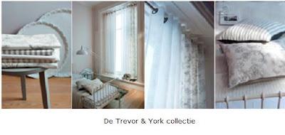 Vision on living denim en 3d de nieuwe trends voor gordijnen for Romantische gordijnen