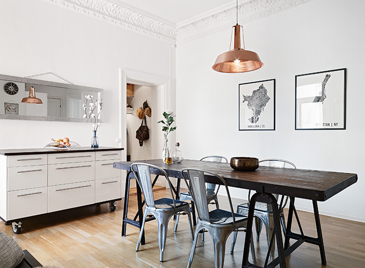 small charming apartment with vintage treasures | fresh home ideas
