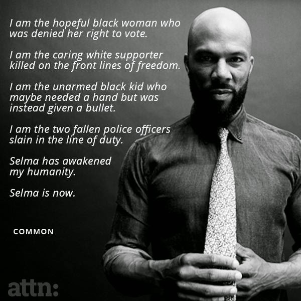 Common Golden Globes Selma Speech