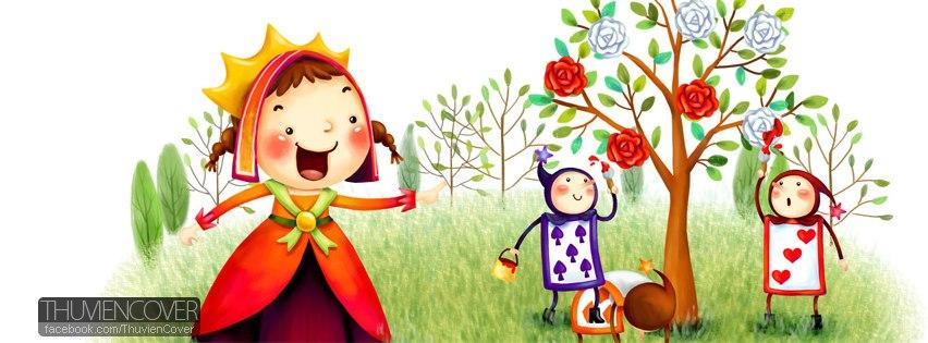 Cute cartoon FB cover - Trọn bộ ảnh bìa hoạt hình dễ thương