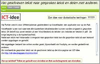 Voorbeeld van een webquest gemaakt met Youdipity