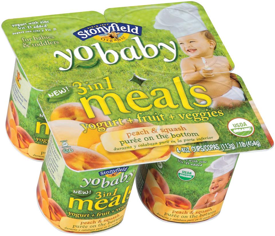 Awesome Deal: 4 Pack YoBaby/YoToddler $0.25 per Yogurt at Giant!