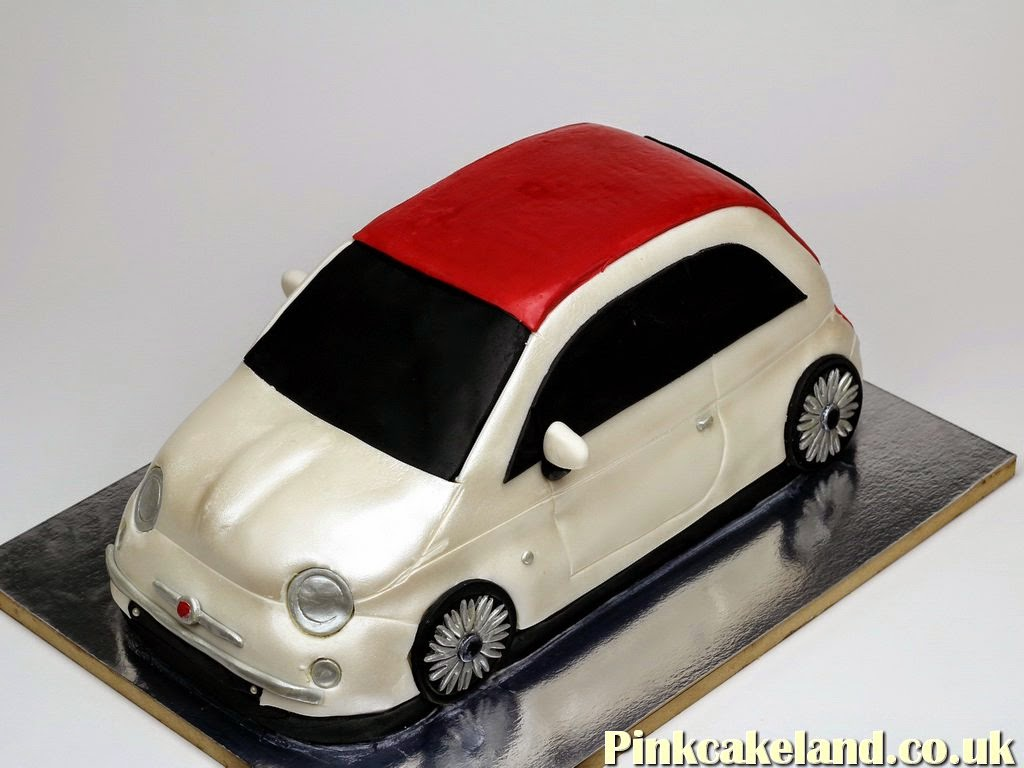 Fiat 500 3D Birthday Cake in London