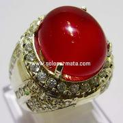 Batu Permata Red Carnelian - kode 03k02