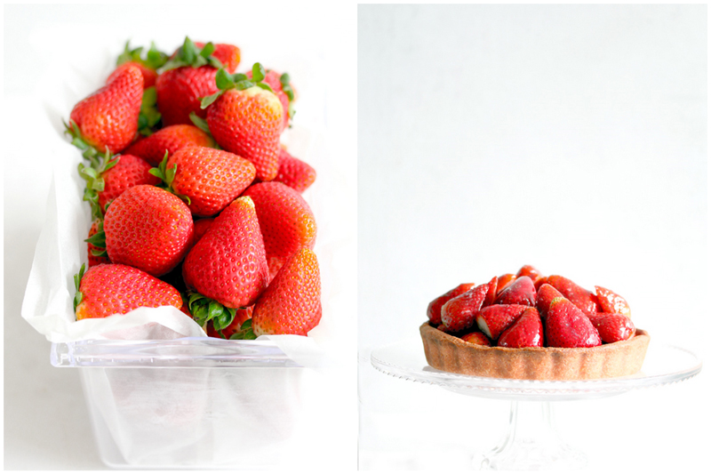Foodagraphy. By Chelle.: Fresh strawberry tart