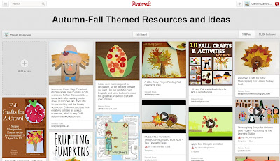 Autumn Fall Pinterest board Clever Classroom