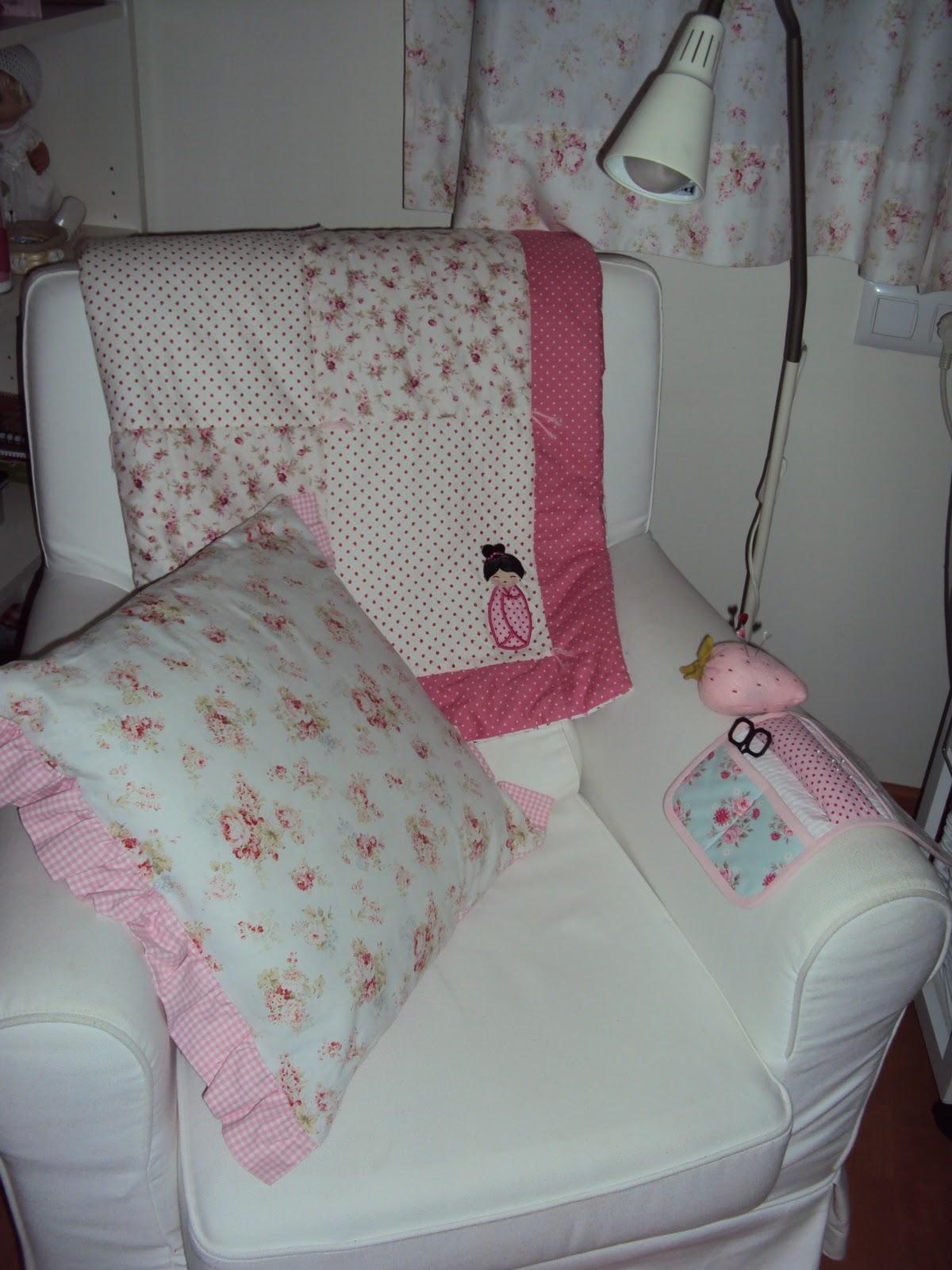 Mercedes y sus muñecas, manualidades, etc : Colcha romántica