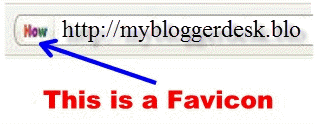 change the Blogger Favicon