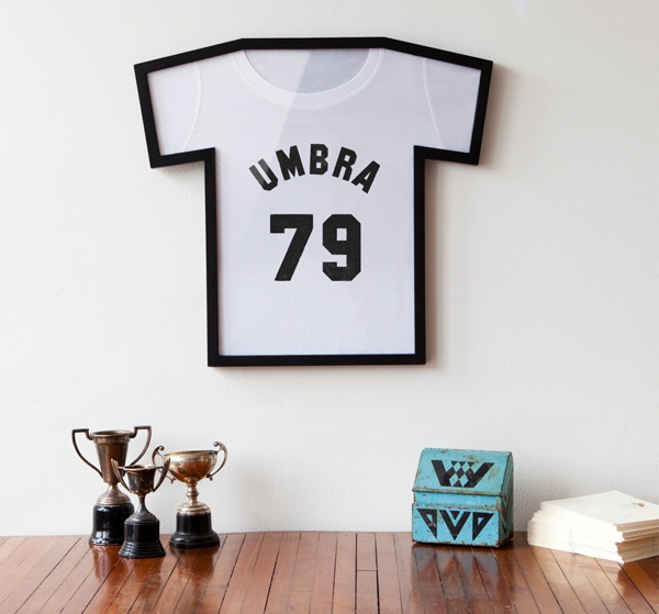 T-frame T shirt display frame