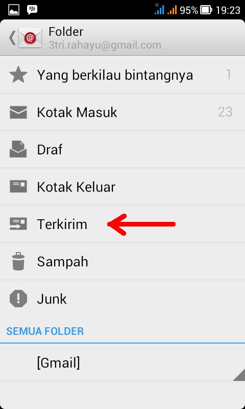 folder email