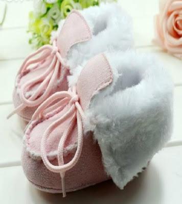 chaussures d'hiver pour votre bébé
