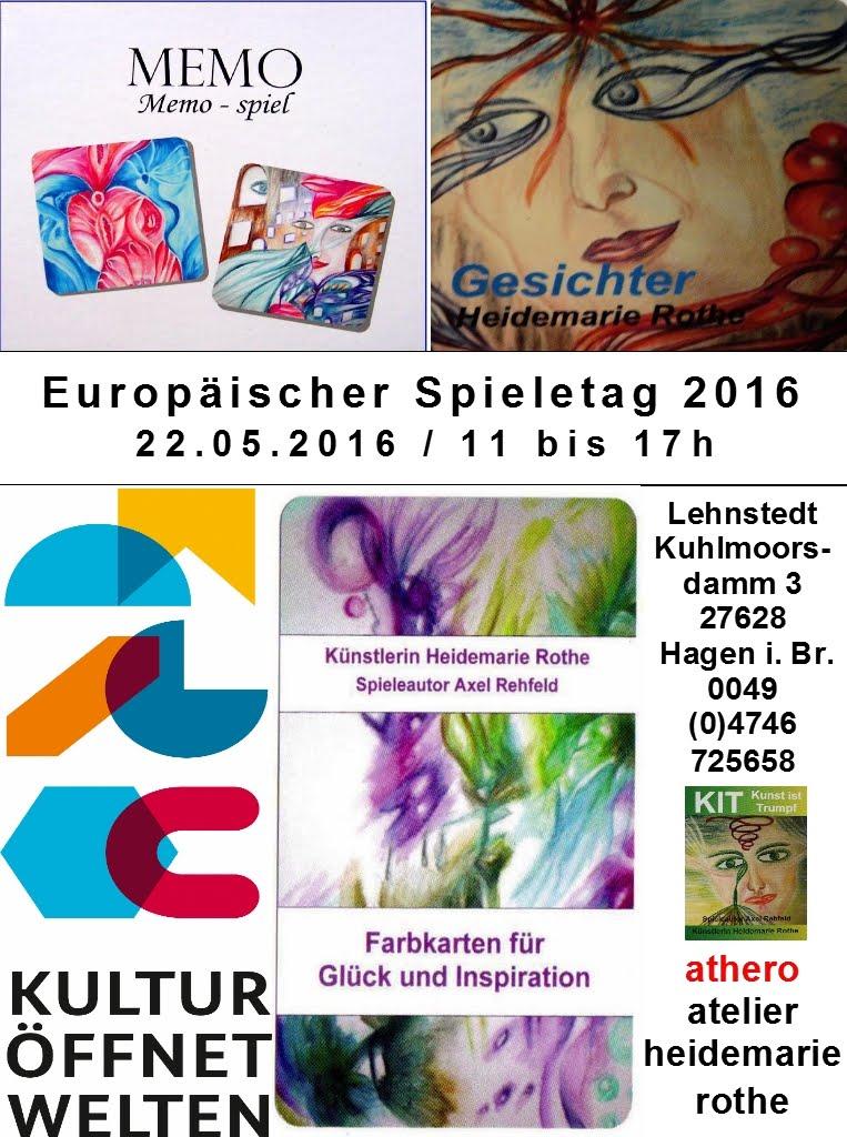 1. Europäischer Spieletag 2016