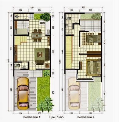 Layout-design-minimalist-house