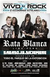 """RATA BLANCA EN EL """"FESTIVAL VIVO X EL ROCK IV"""" (PERÚ) - 13/12/2014"""