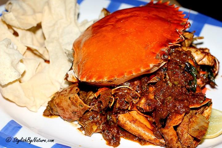 exotic crab