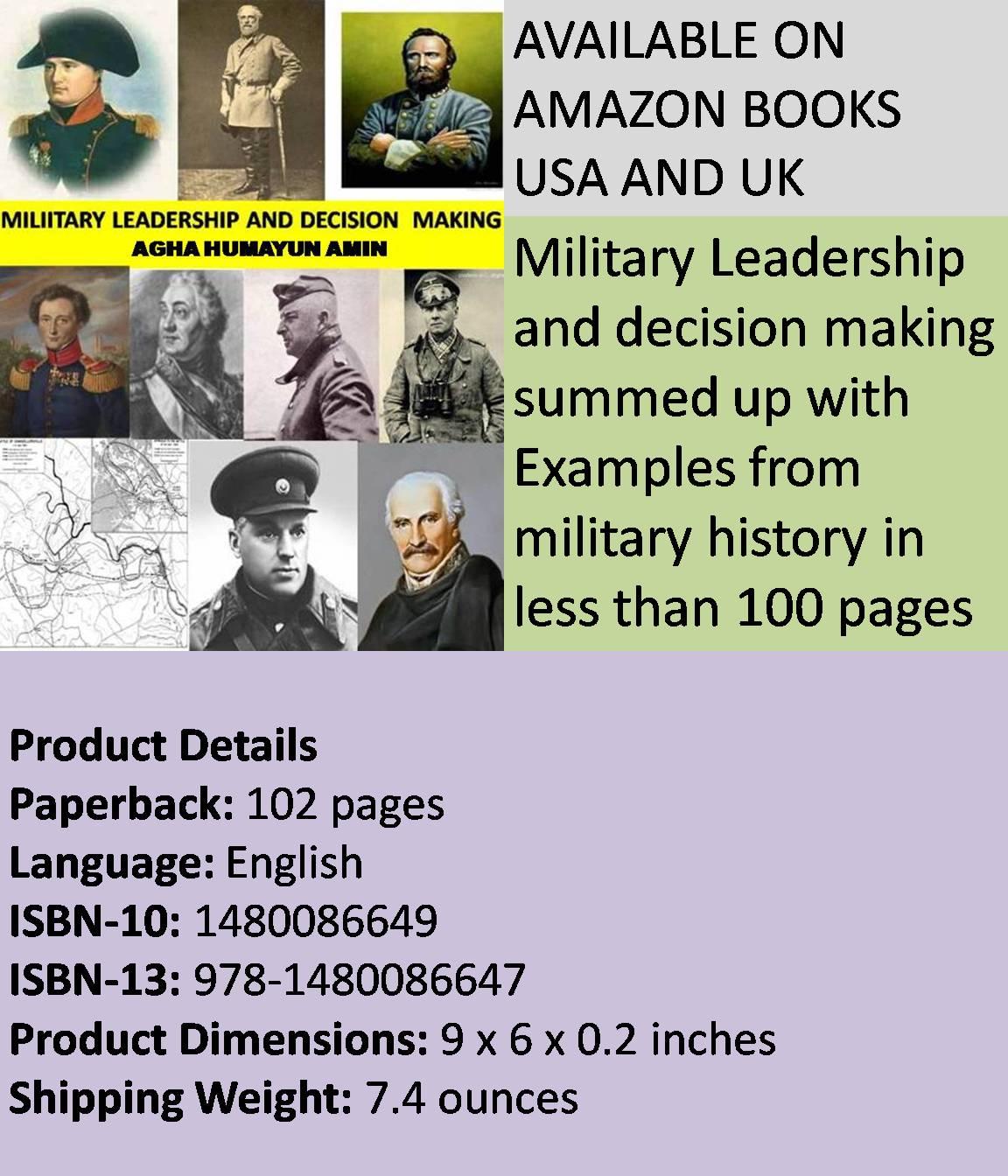 Military Leadership Essay